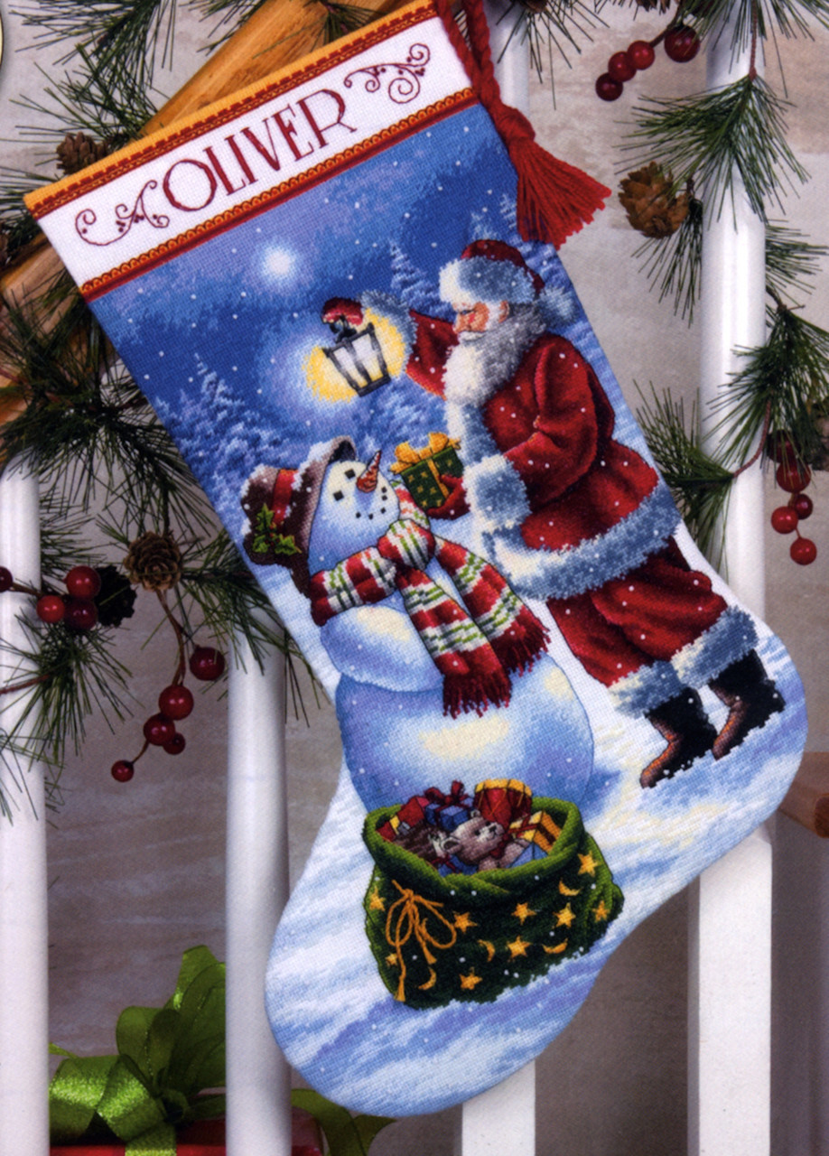 Gold Collection - Holiday Glow Stocking