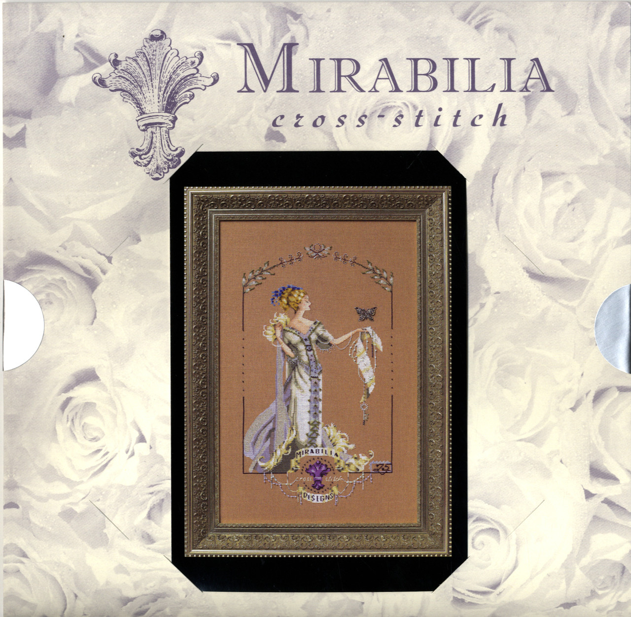 Lady Mirabilia 25th Anniversary Pattern w/Charm #MD158