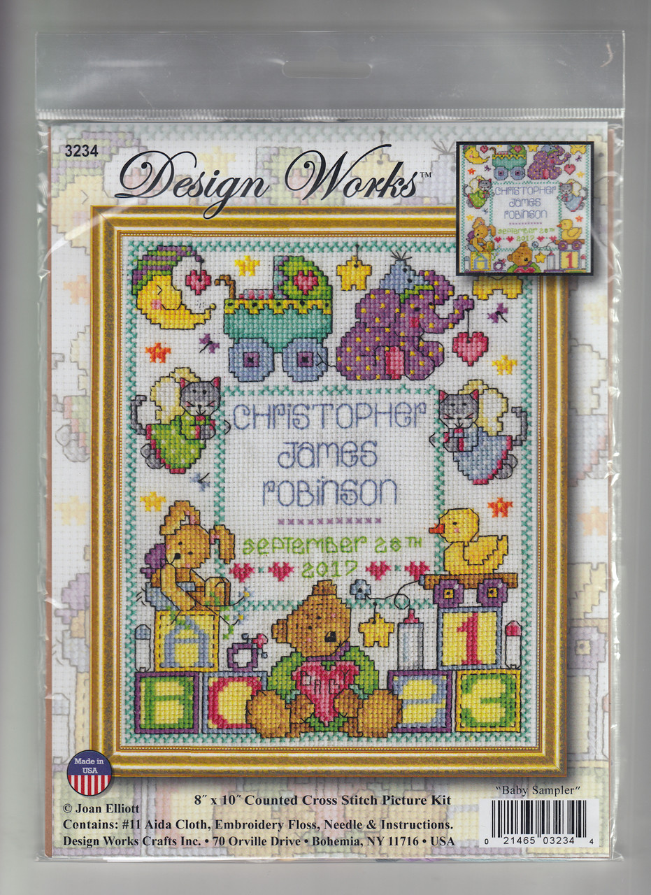 Design Works - Baby Sampler