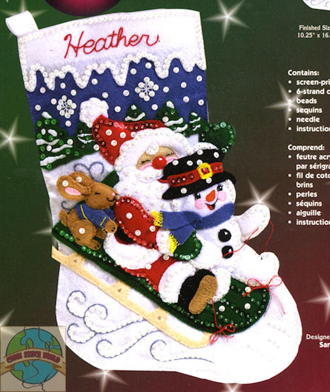 Janlynn - Christmas Fun Stocking