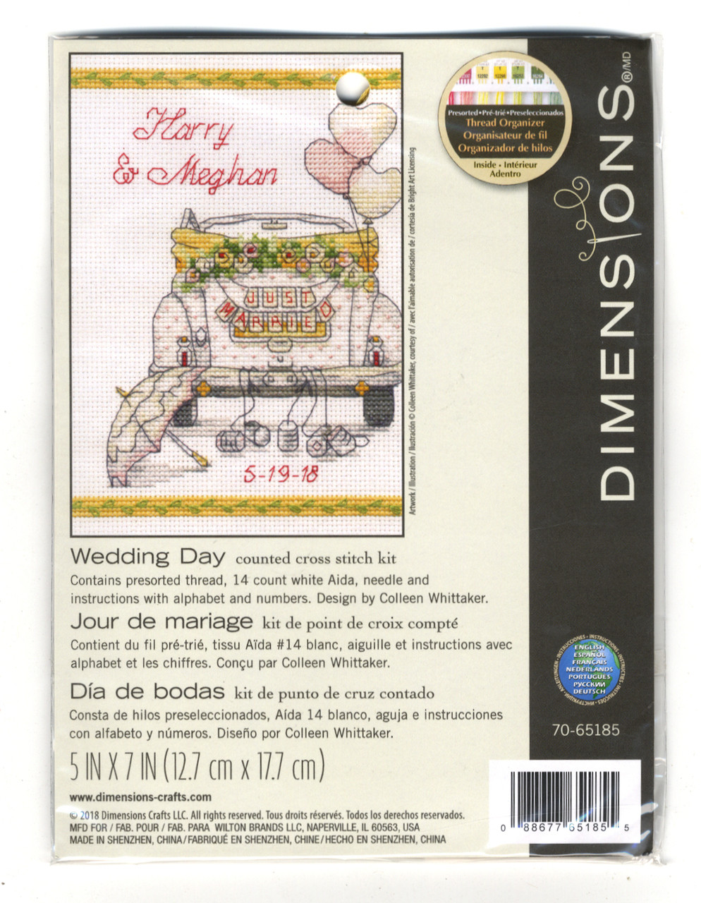 Dimensions Minis - Wedding Day