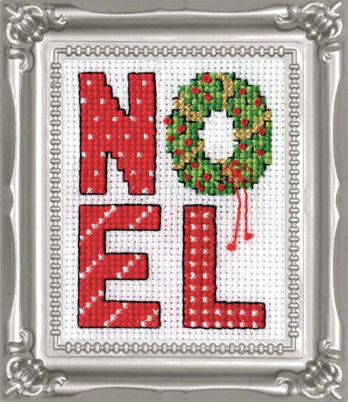 Design Works -  Noel Picture Kit w/Frame