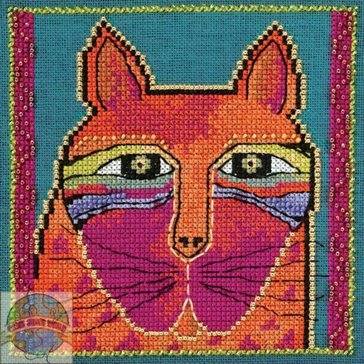 Mill Hill / Laurel Burch - Wild Orange Cat (AIDA)