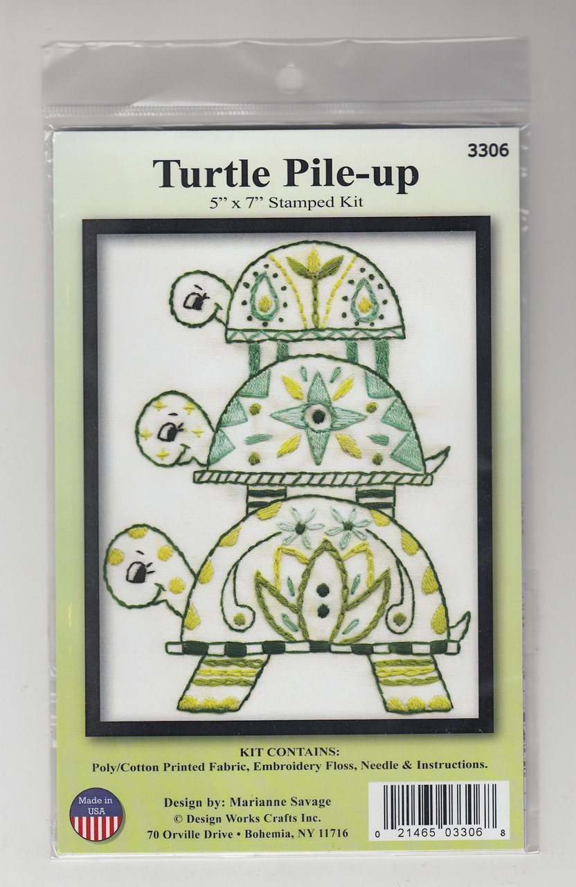Design Works - Turtle Pile-up