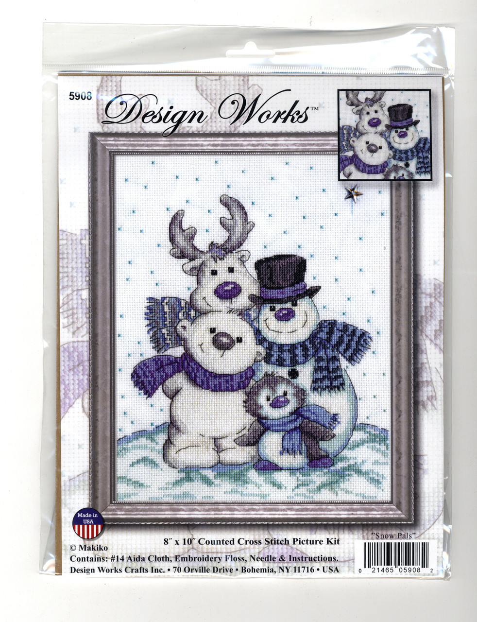 Design Works - Snow Pals