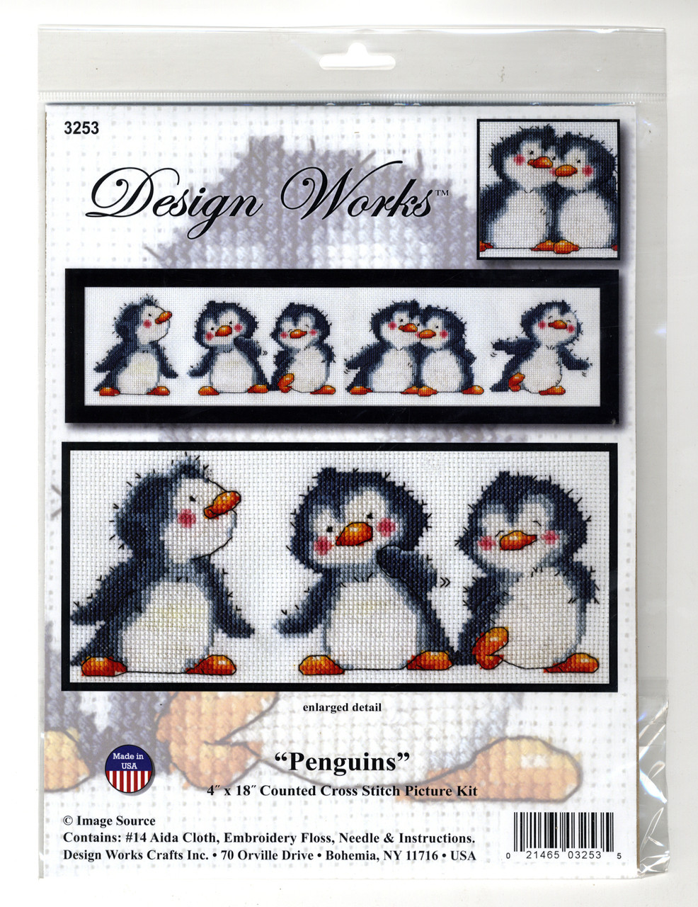 Design Works - Penguin Row