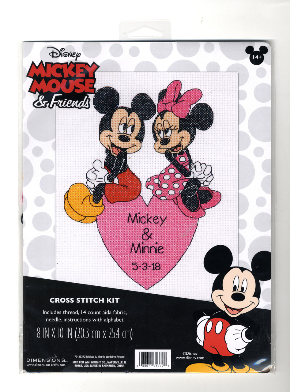 Dimensions - Mickey & Minnie Wedding Record