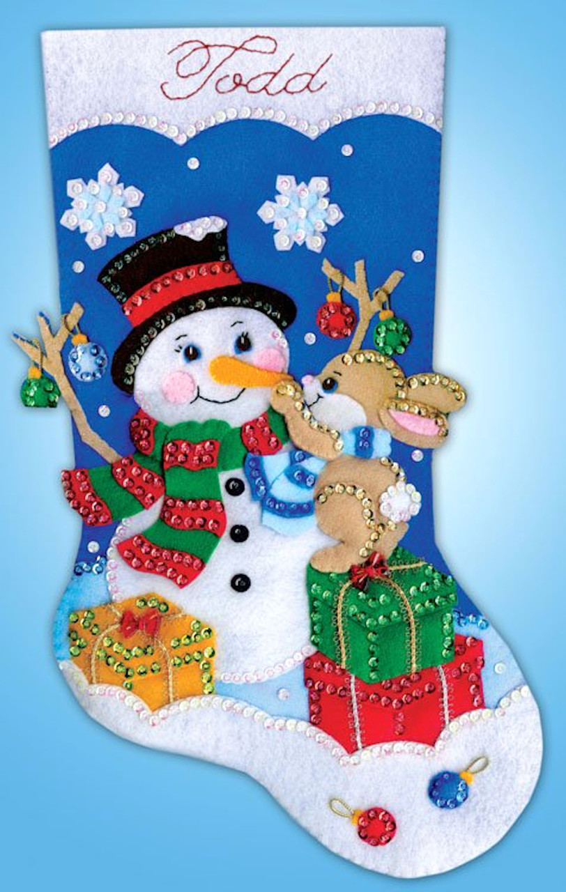Design Works - Busy Bunny Stocking