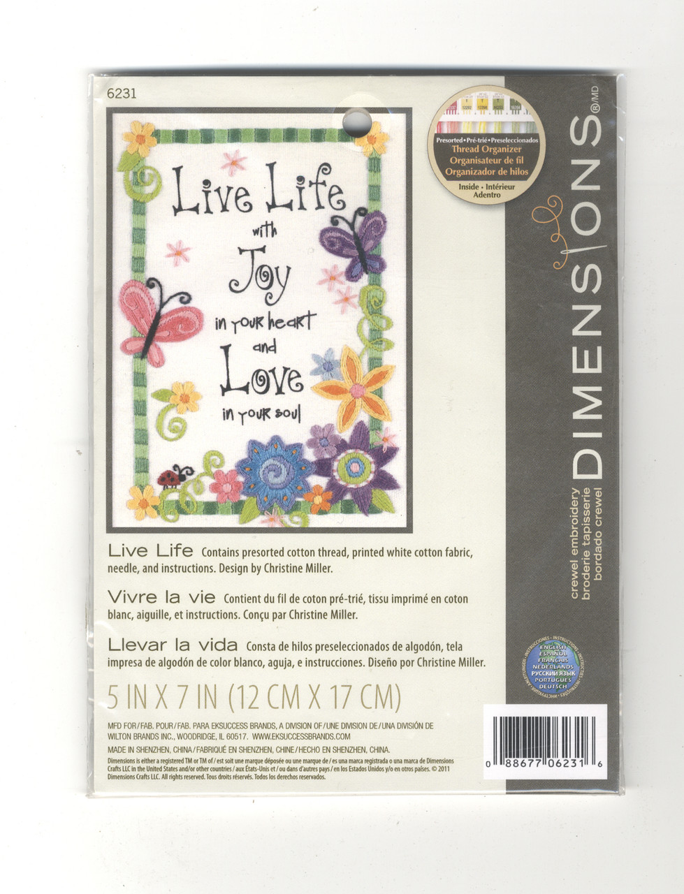 Dimensions Minis - Live Life