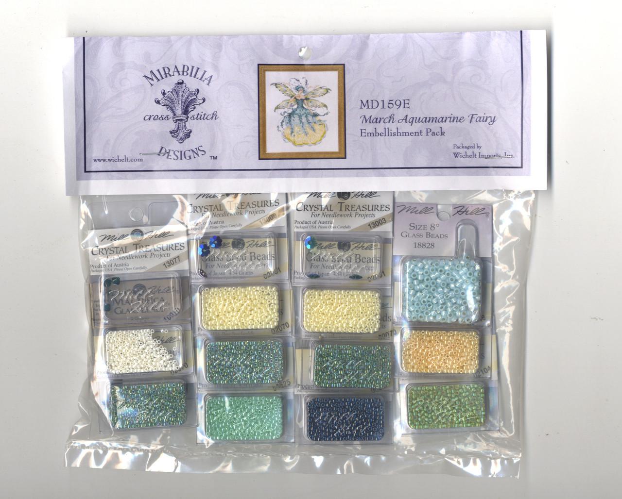 Mirabilia Embellishment Pack - March Aquamarine Fairy
