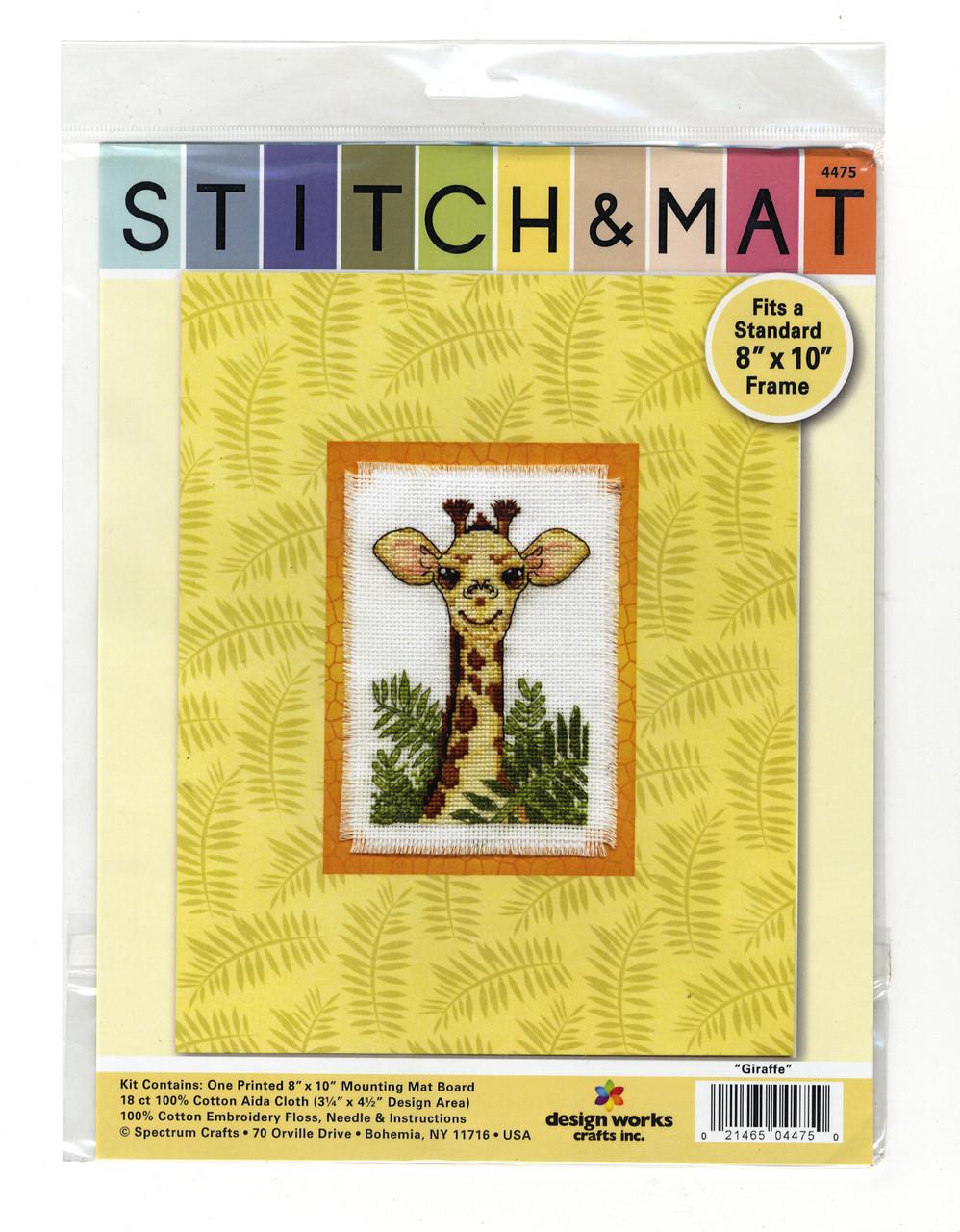 Design Works - Giraffe Stitch & Mat
