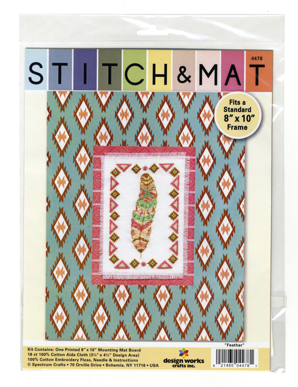 Design Works - Feather Stitch & Mat