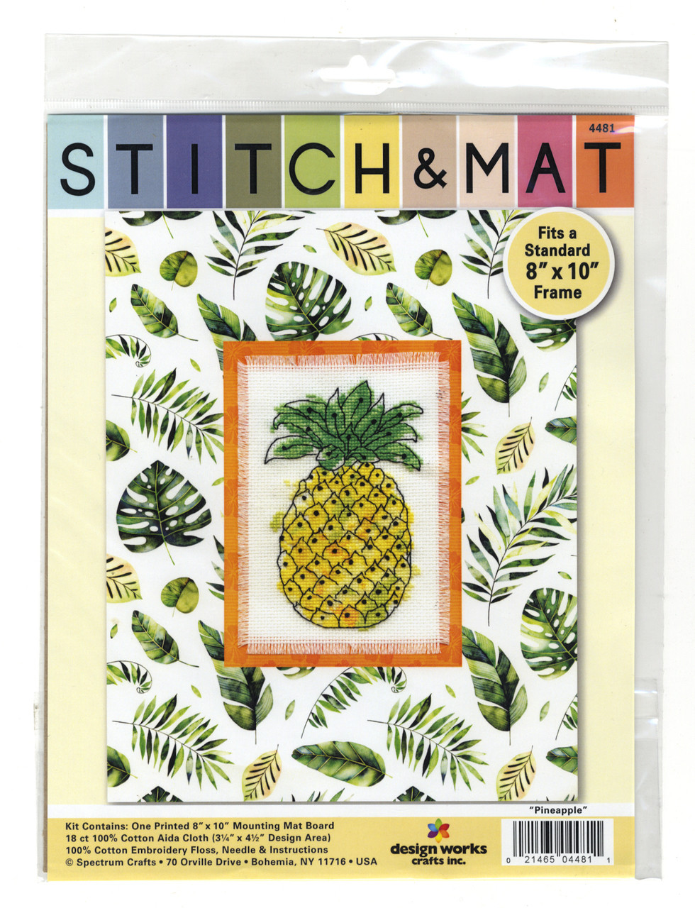 Design Works - Pineapple Stitch & Mat