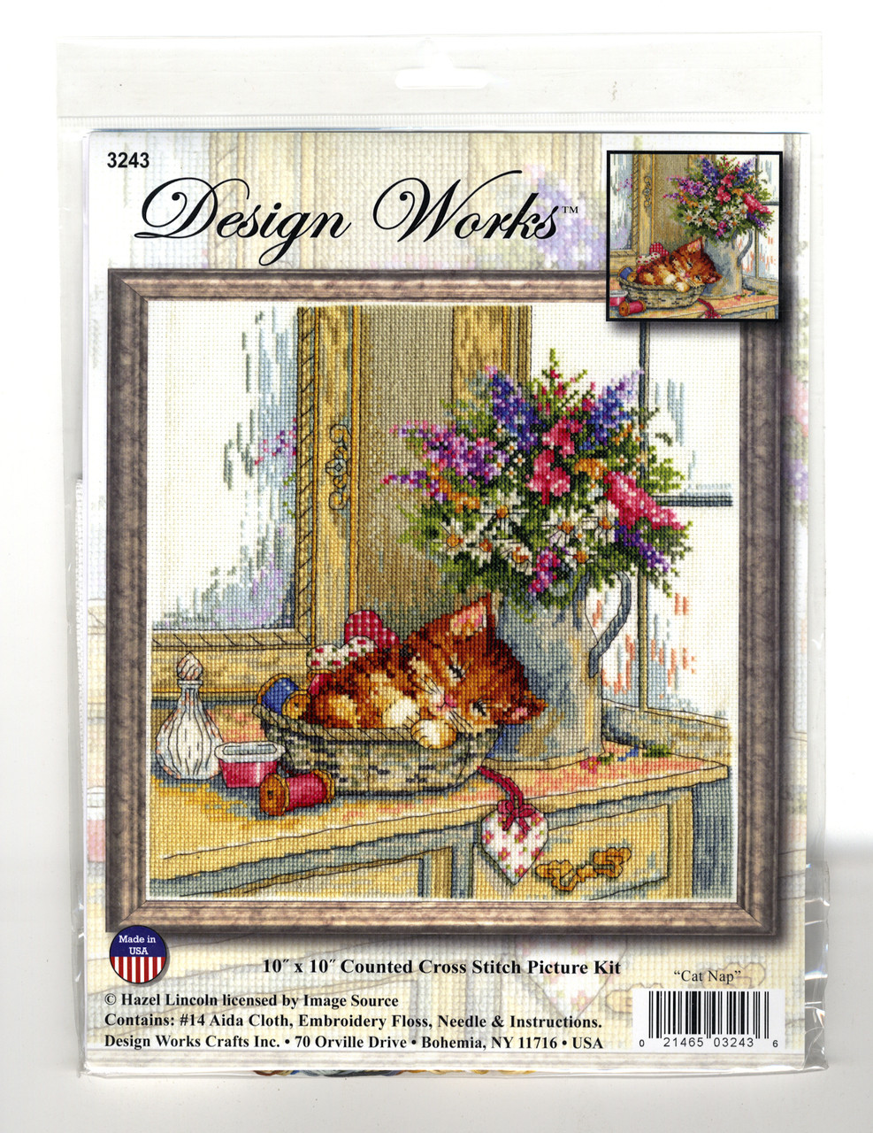 Design Works - Cat Nap