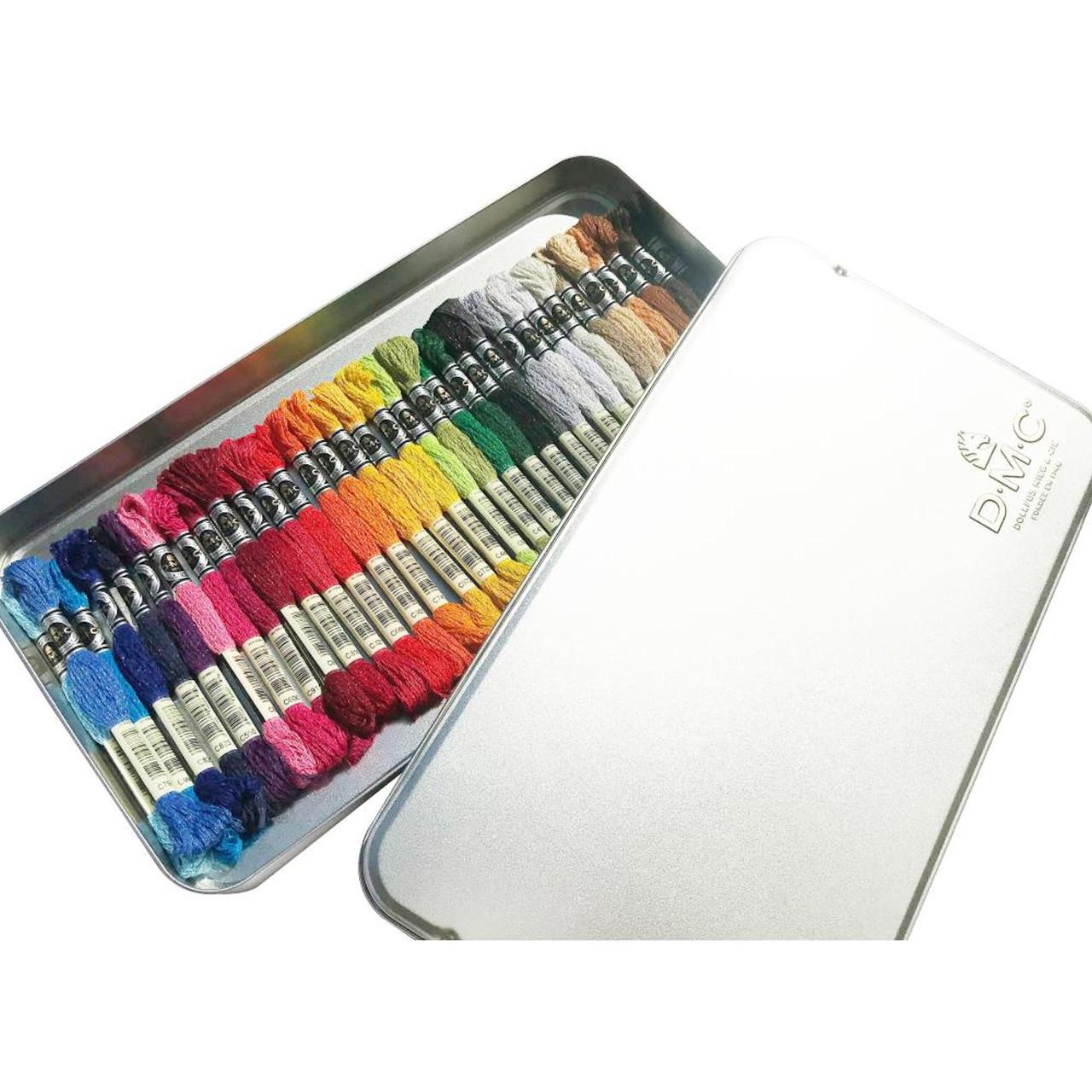 DMC Etoile Embroidery Floss Tin (35 Skeins)