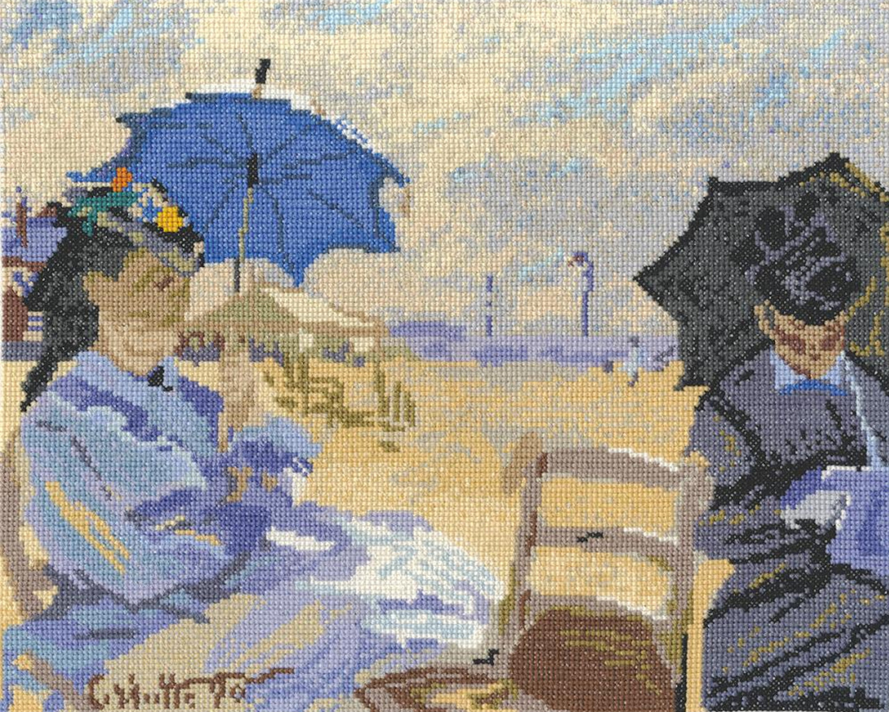 DMC - Monet's The Beach at Tourville