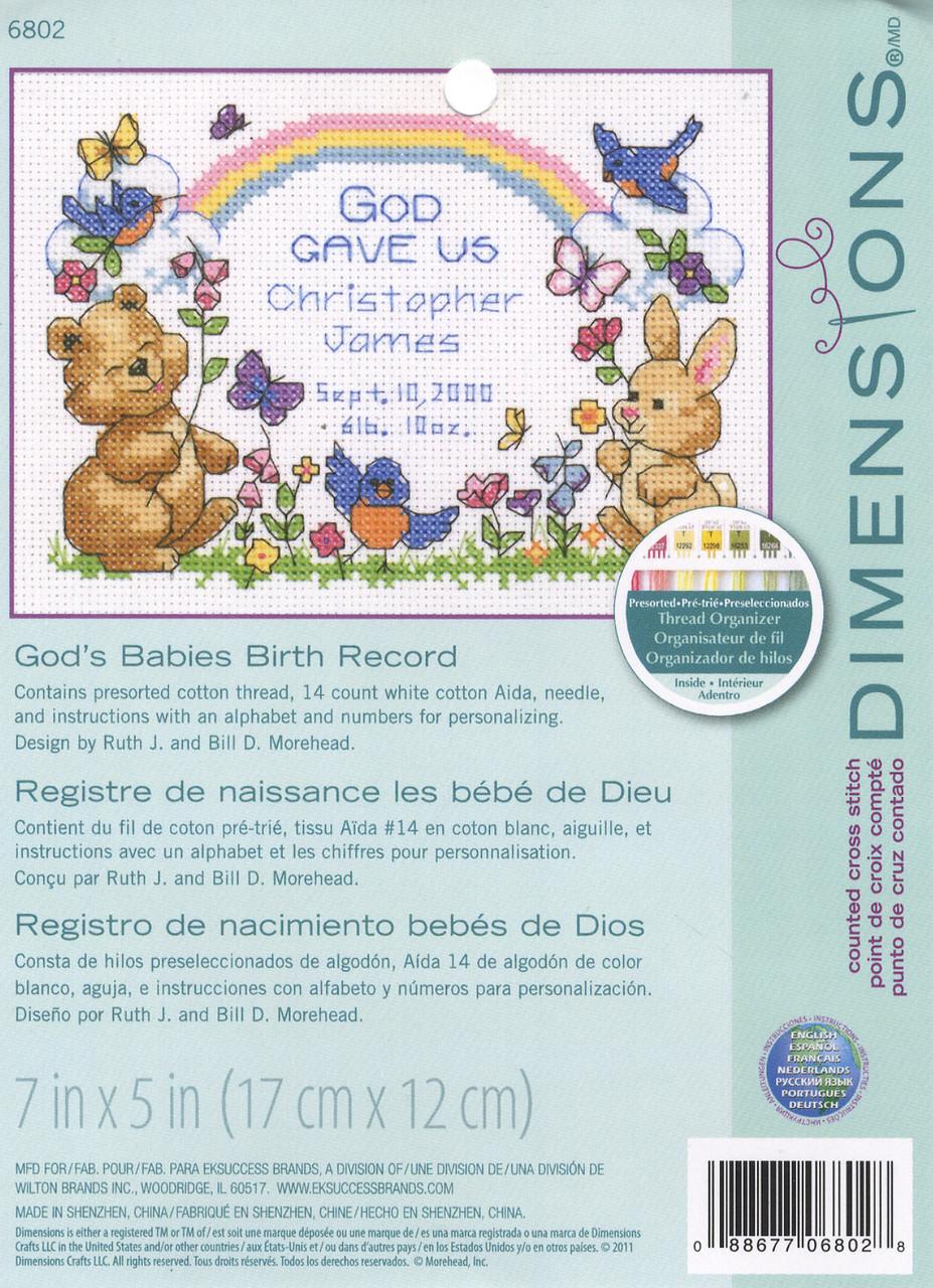 Baby Hugs -  God's Baby Birth Record