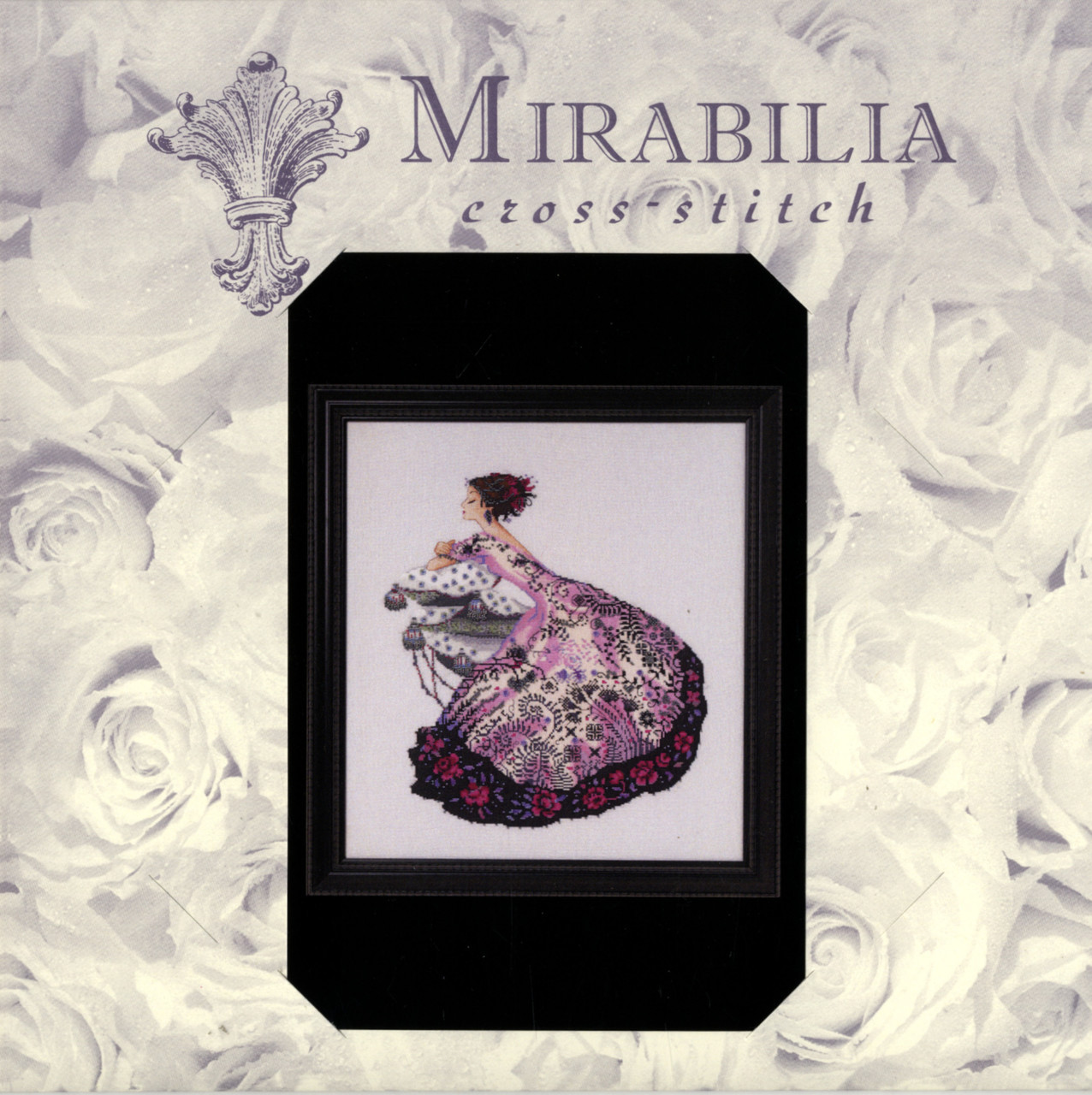 "COMPLETE XSTITCH MATERIALS /""ZELDA  MD161/"" by Mirabilia SALE"