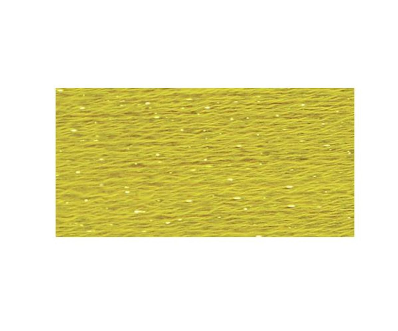 DMC Etoile Floss #C444 - Dark Lemon