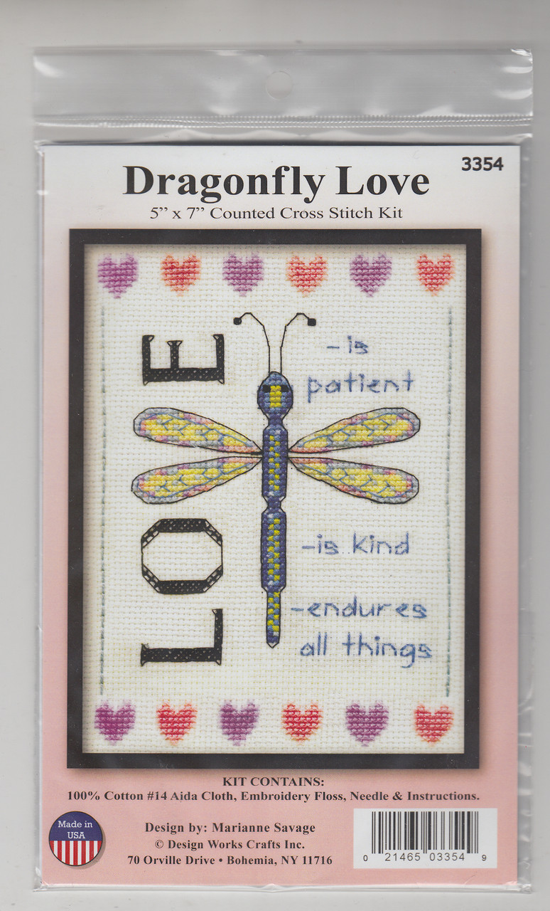 Design Works - Dragonfly Love