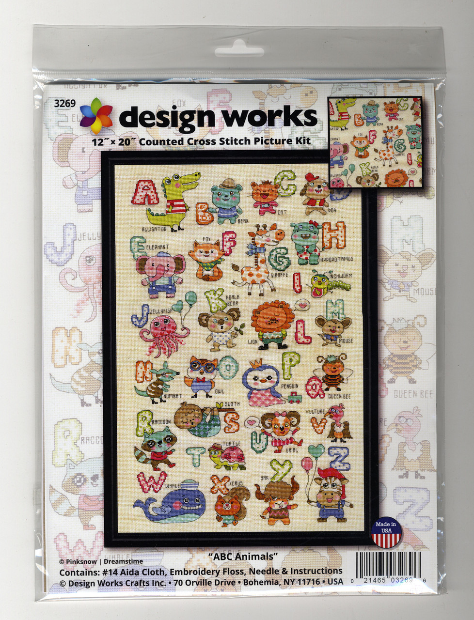 Design Works - ABC Cute Animals