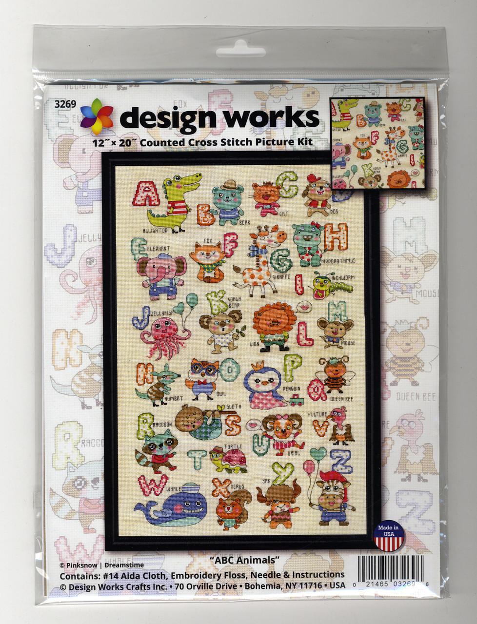 Design Works - ABC Cute Animals