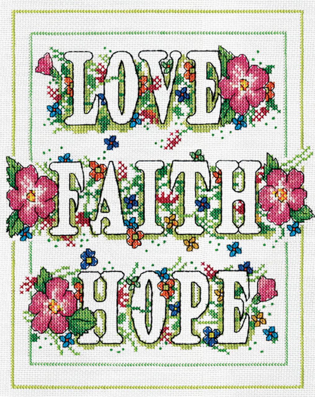 Design Works - Love, Faith, Hope