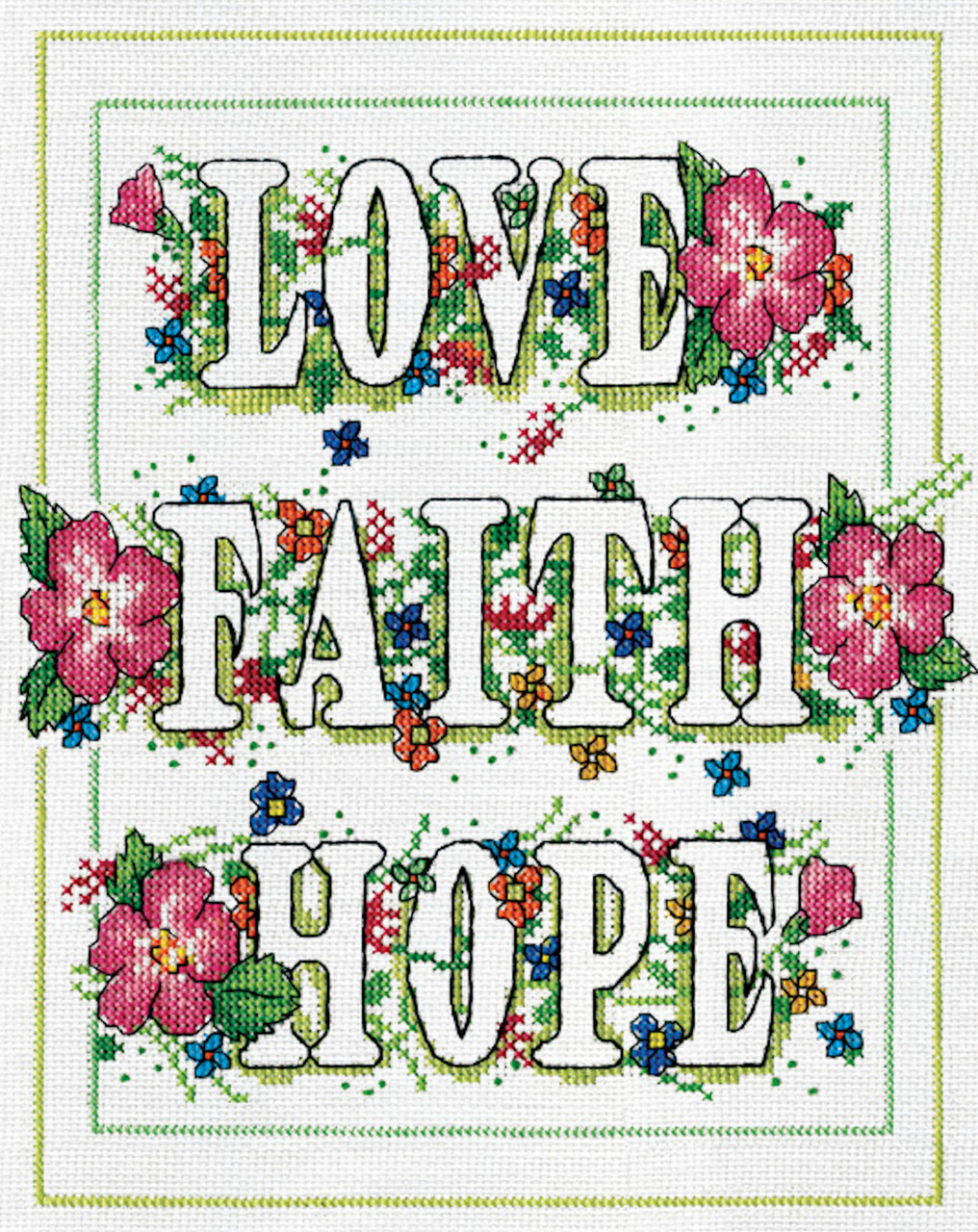 Design Works - Love, Faith, Hope