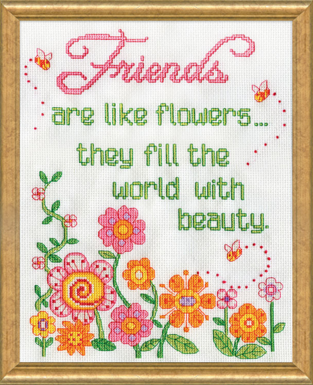 Design Works - Friends are like Flowers