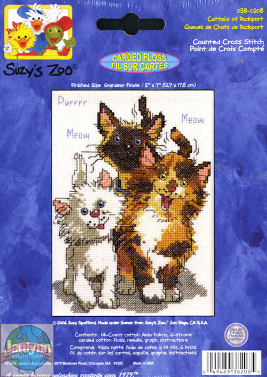 Janlynn / Suzy's Zoo - Cattails of Duckport