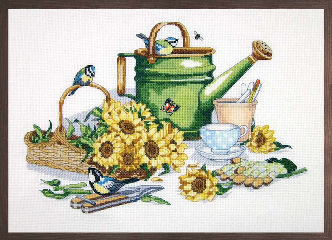Janlynn Platinum Collection - Watering Can