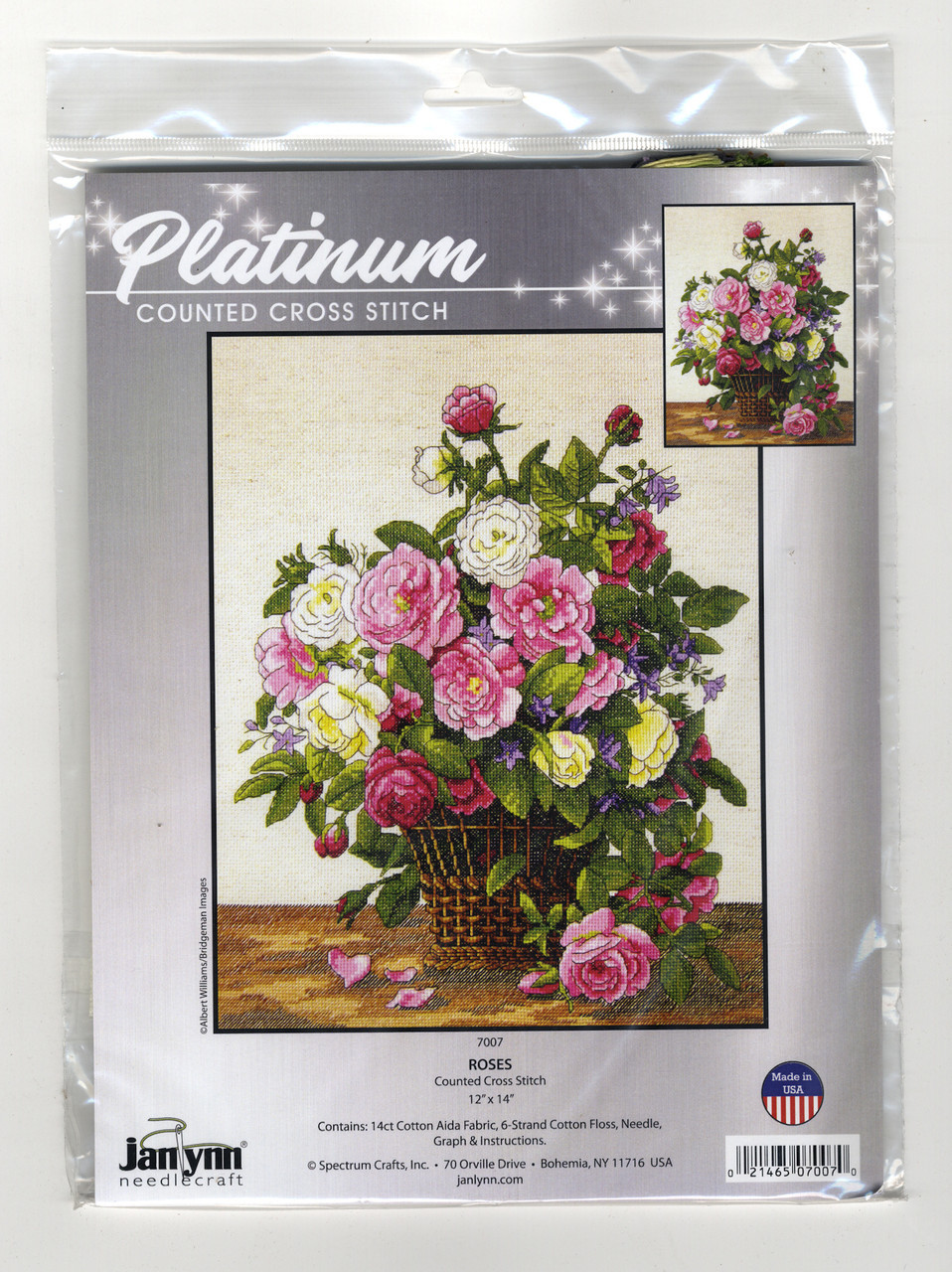 Janlynn Platinum Collection  - Roses