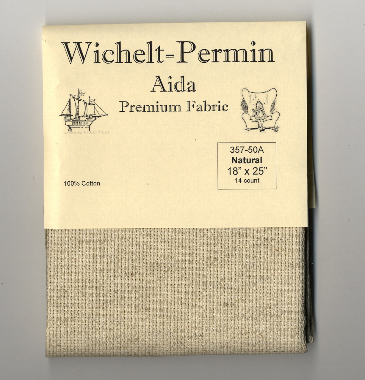 Wichelt - 14 Ct  Natural Aida 18 x 25 in