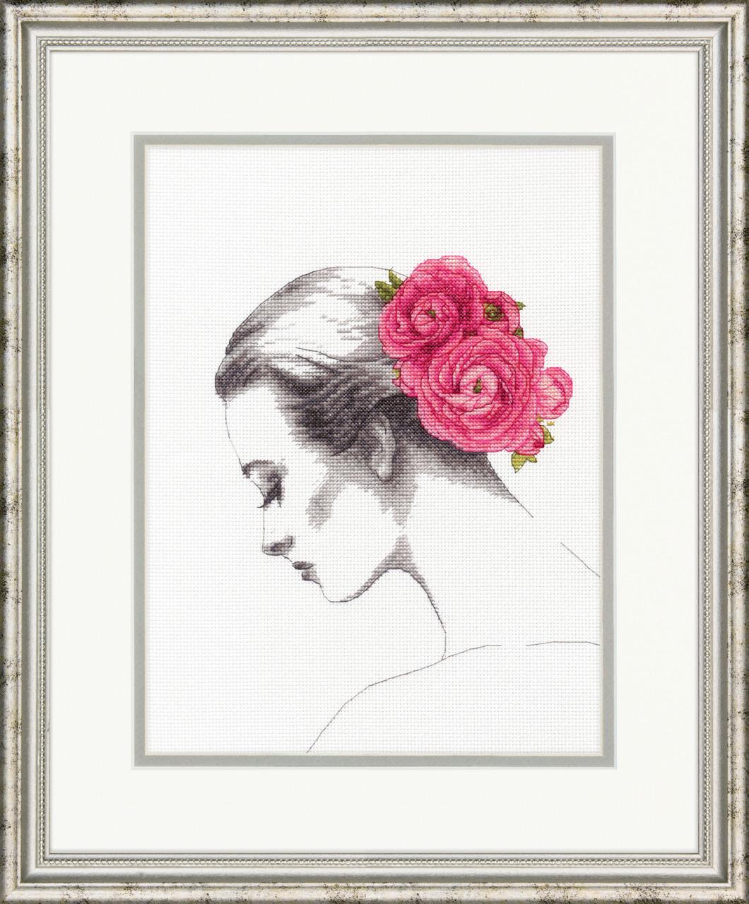 Dimensions - Floral Portrait