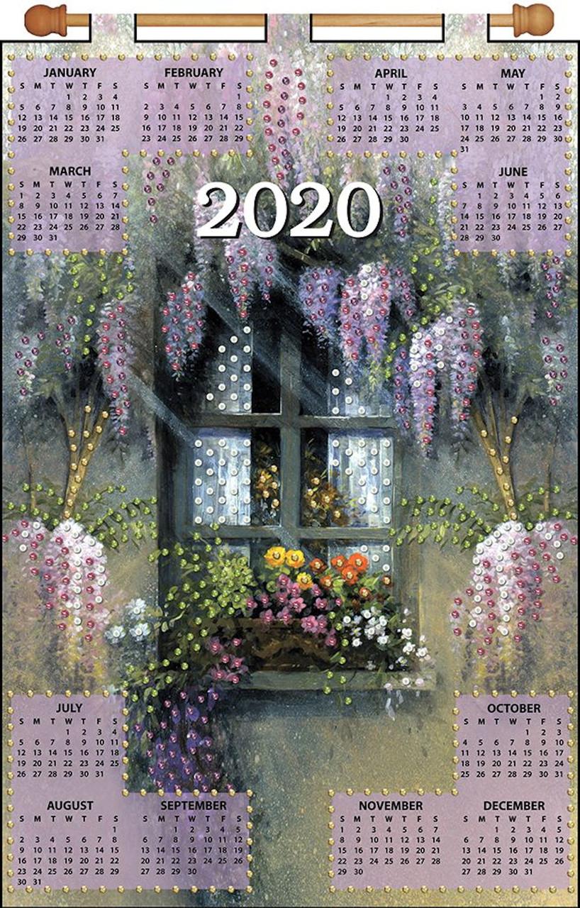 December Windows 2020 Calendar Design Works   Window 2020 Calendar   CrossStitchWorld