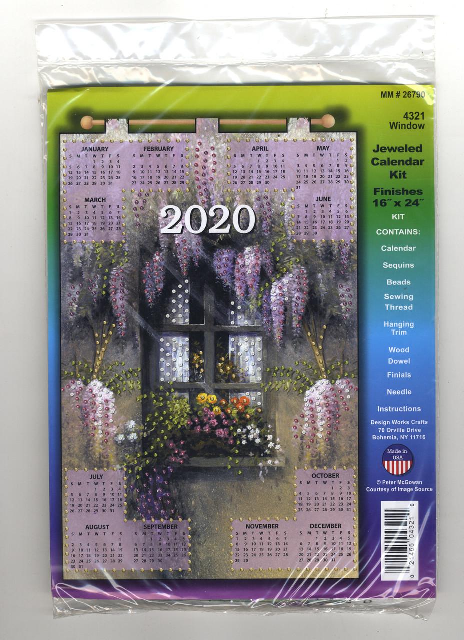 Design Works - Window 2020 Calendar