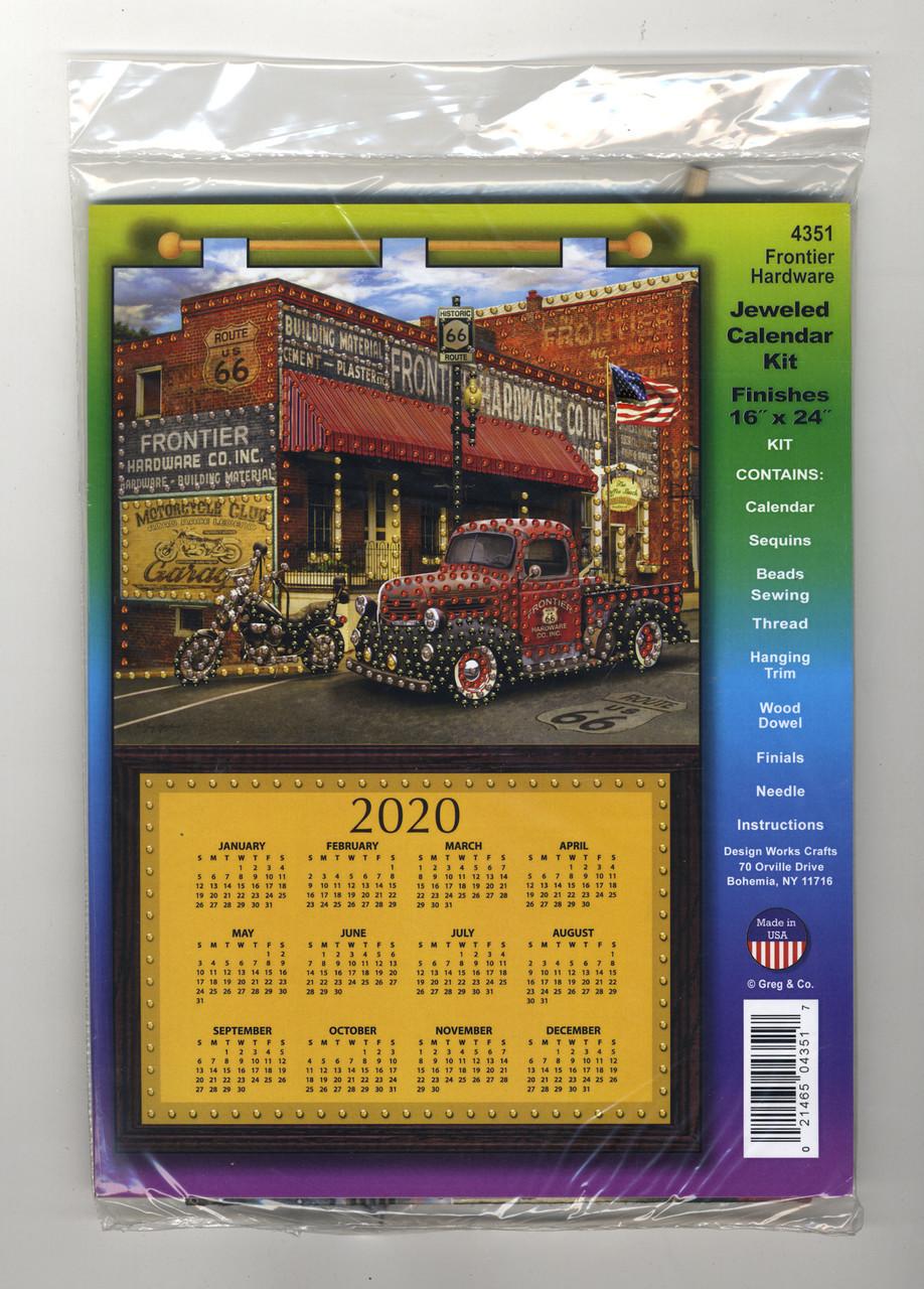 Design Works - Frontier Hardward 2020 Calendar