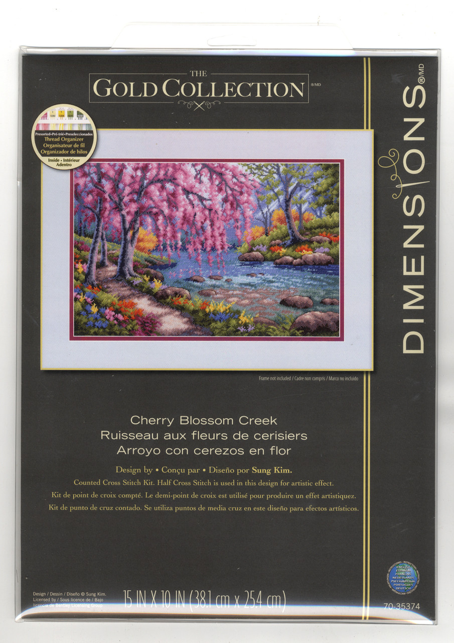 Gold Collection - Cherry Blossom Creek