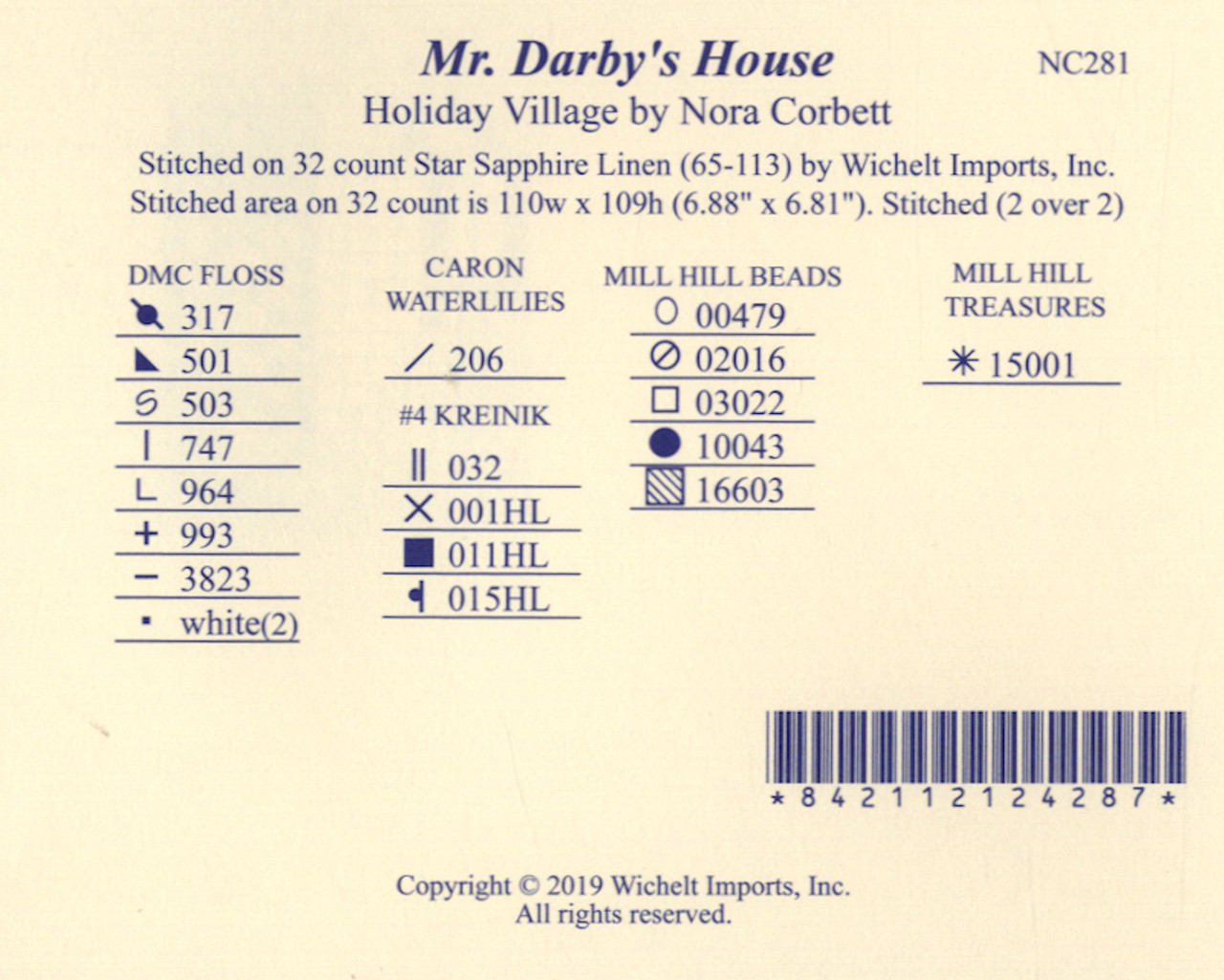 Nora Corbett - Mr. Darby's House