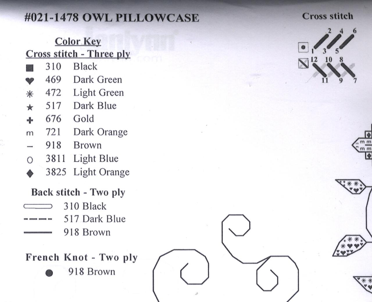 Janlynn - Owl Pillowcase Pair
