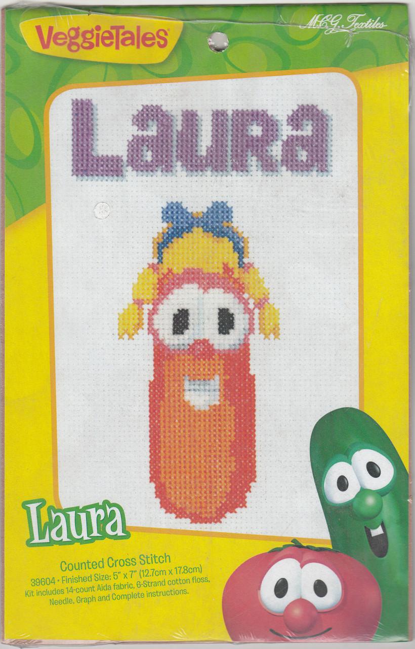 M.C.G. Textiles - VeggieTales Laura Carrot