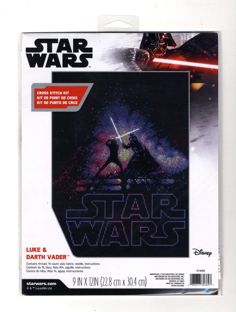 Dimensions Star Wars - Luke & Darth Vader