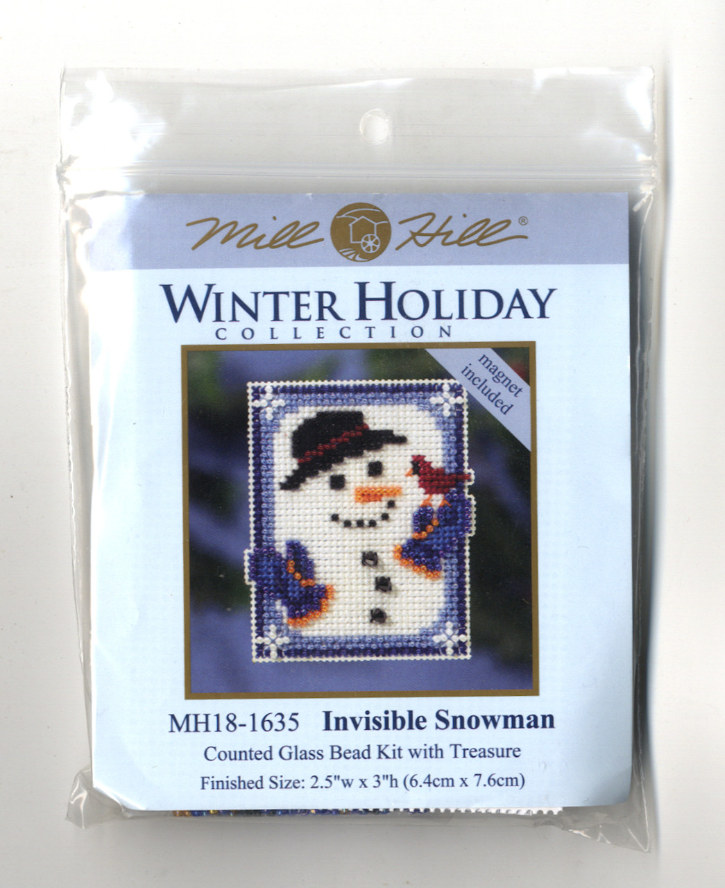 2016 Mill Hill Winter Holiday Collection Ornament Set (6 Kits)