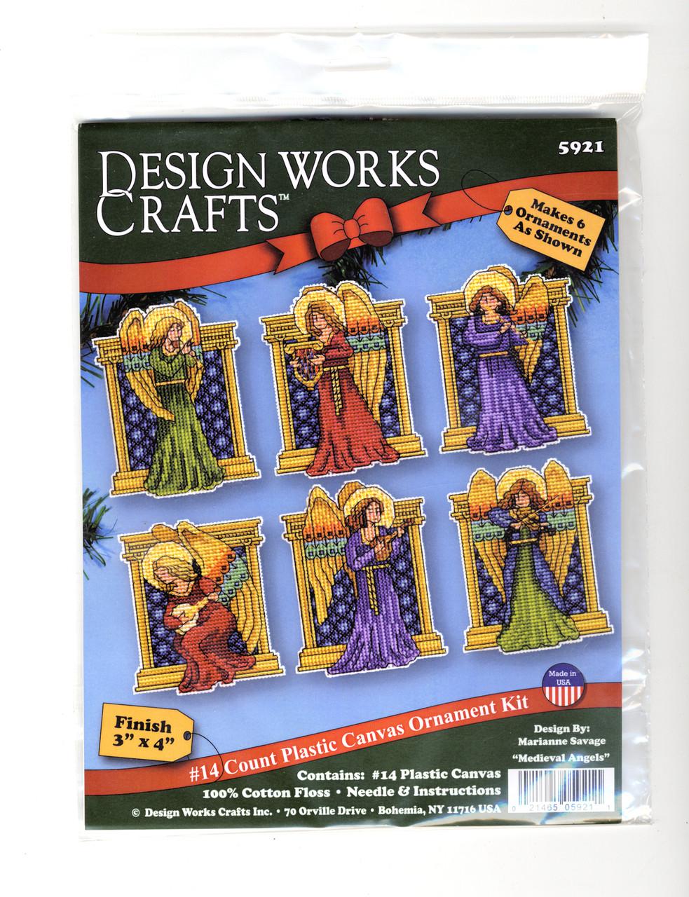 Design Works - Medieval Angels Ornaments