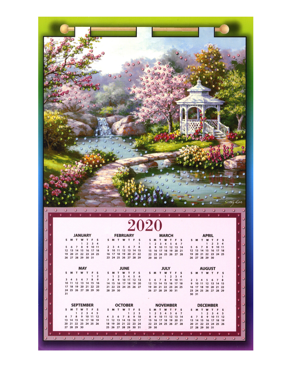 Design Works - Gazebo 2020 Calendar