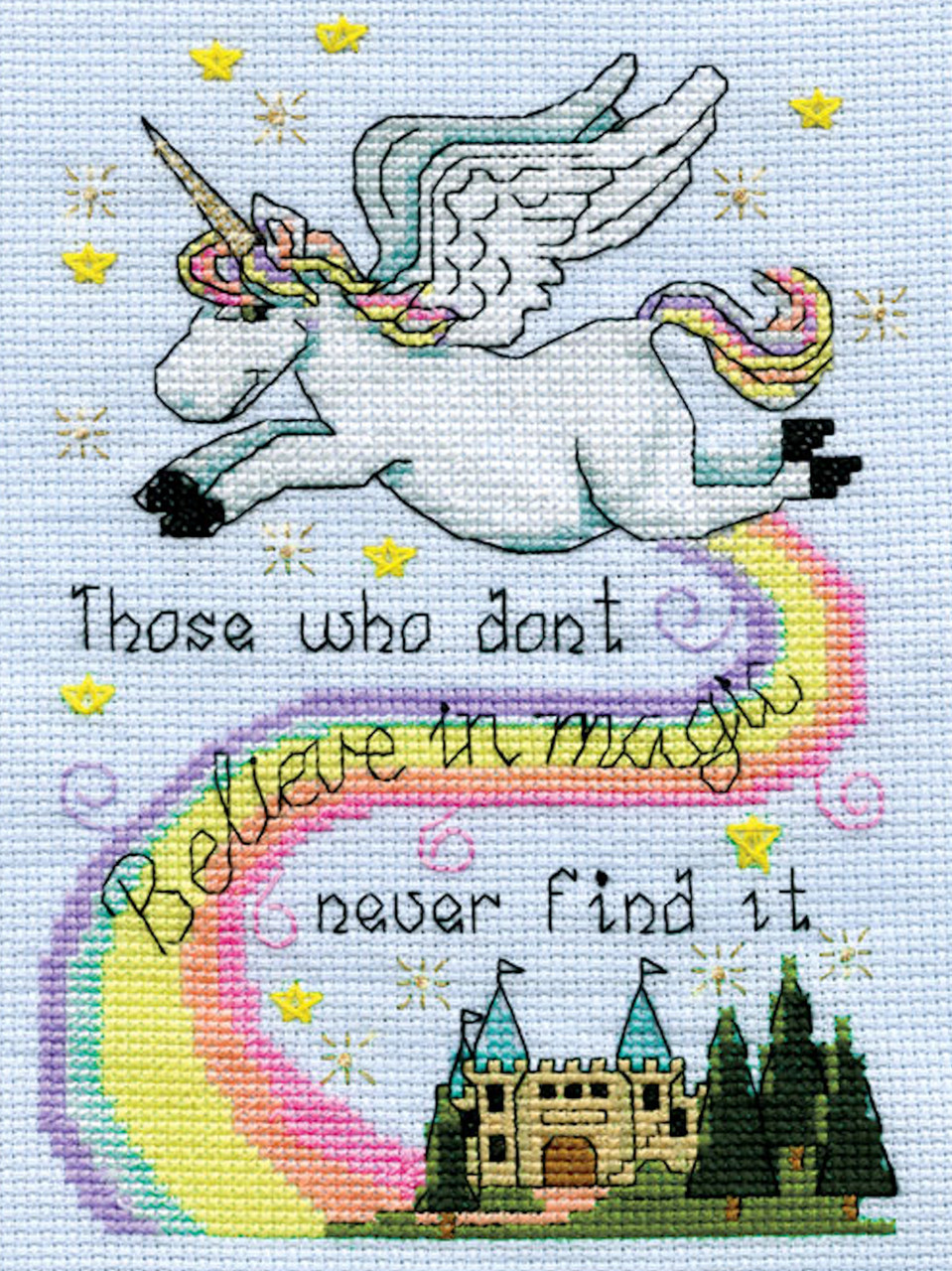 Design Works - Believe in Magic (Unicorn)
