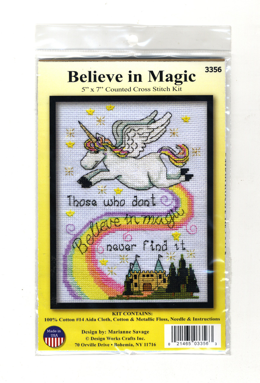 Design Works - Believe in Magic (Unicorn)