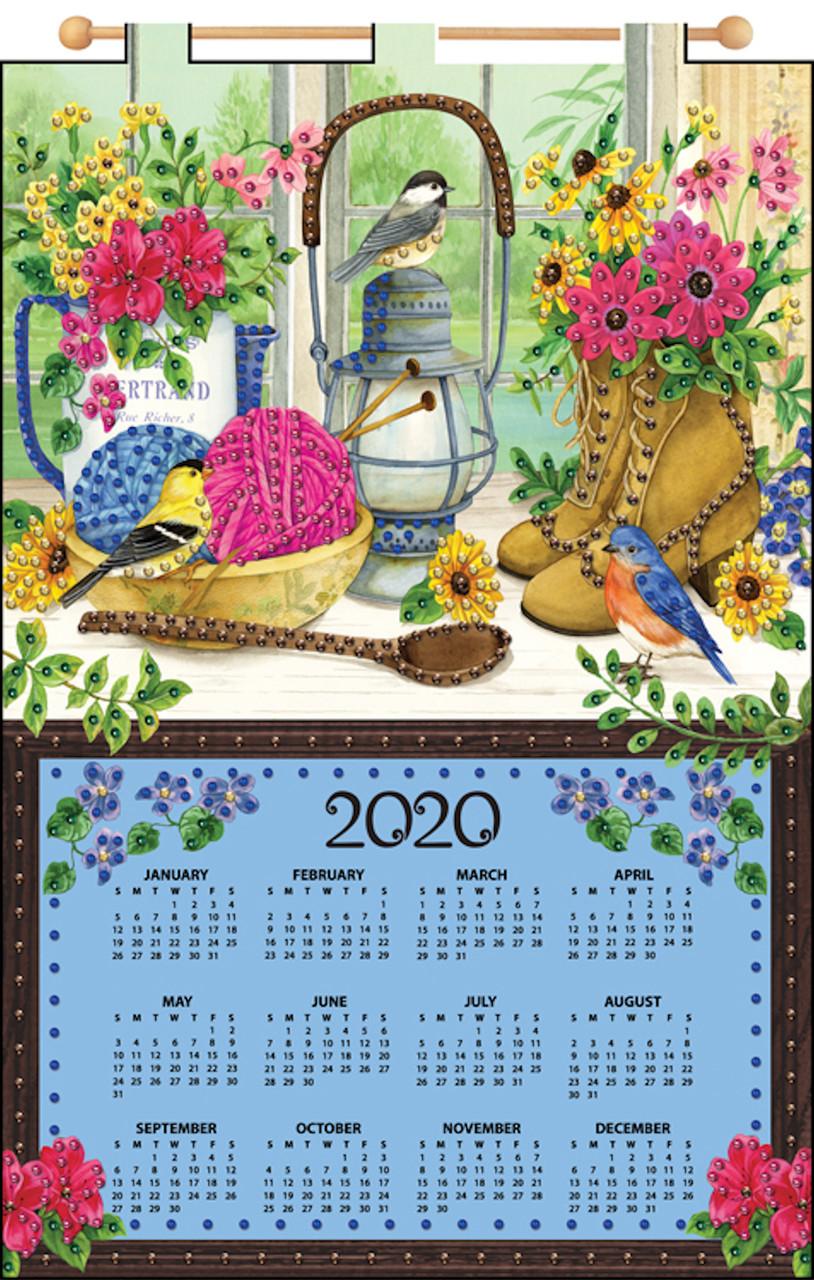 Design Works - Sewing Desk 2020 Calendar
