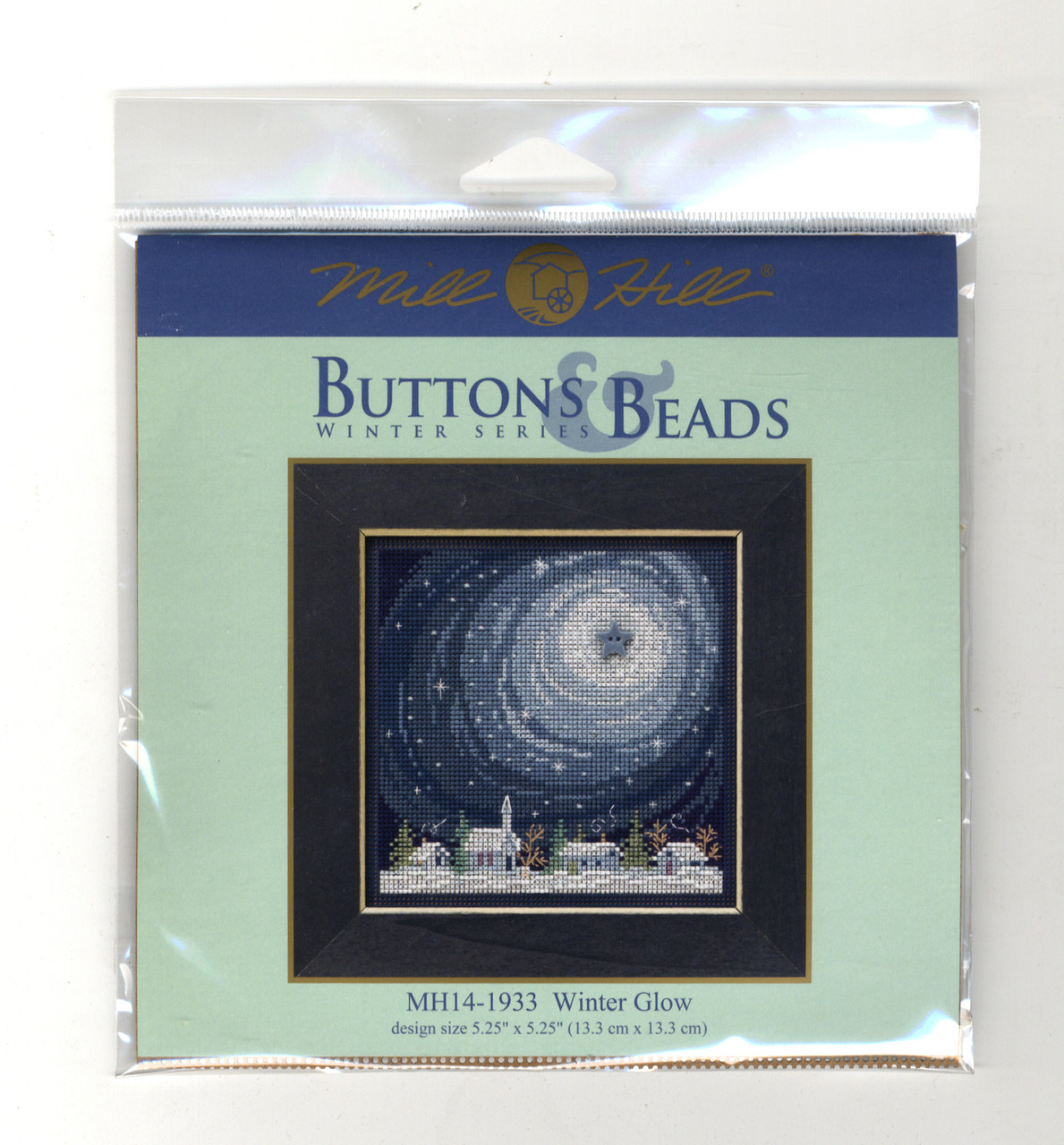 2019 Mill Hill Buttons & Beads Winter Series - Winter Glow