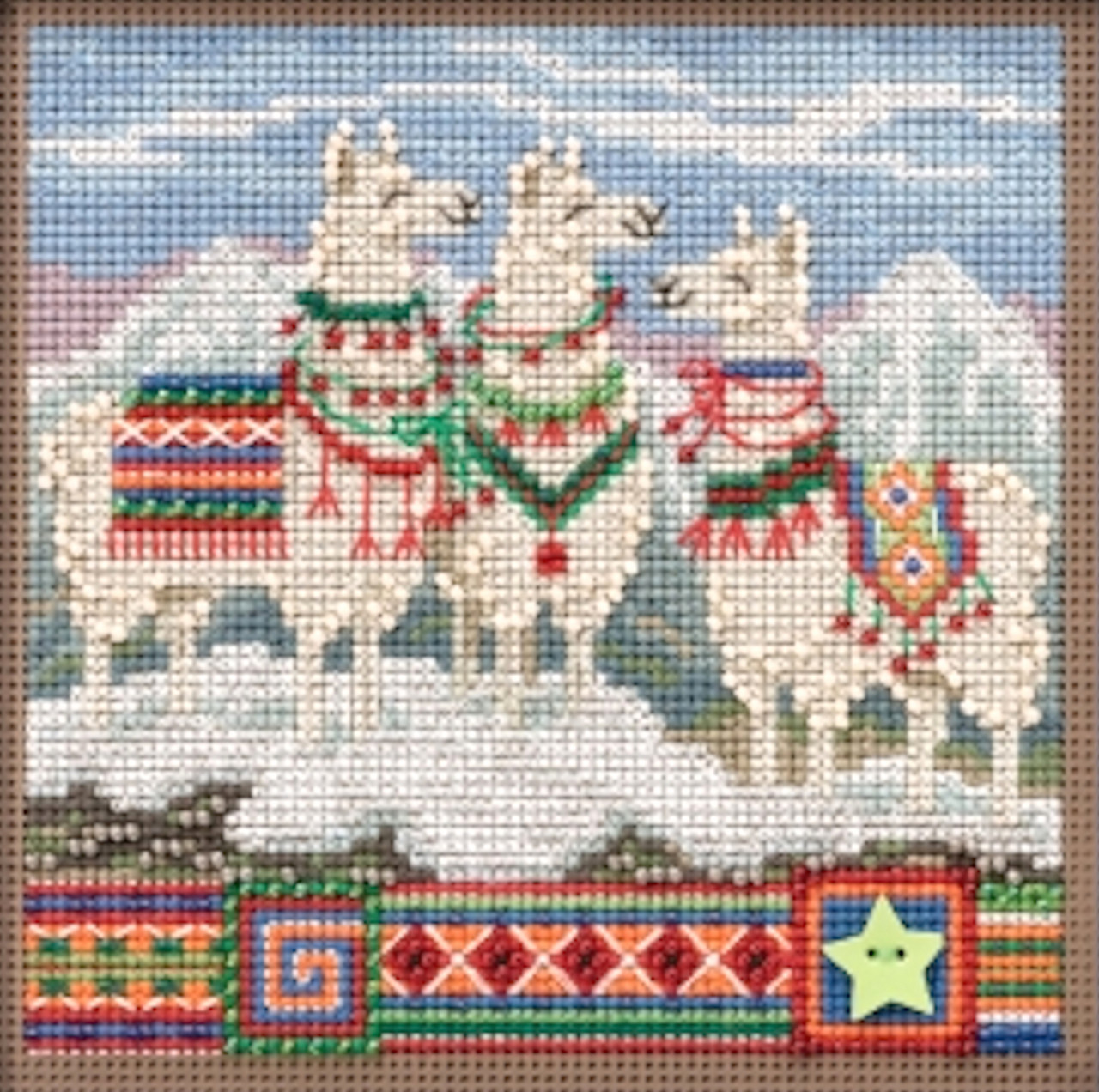 2019 Mill Hill Buttons & Beads Winter Series - Fa, La, La Llamas